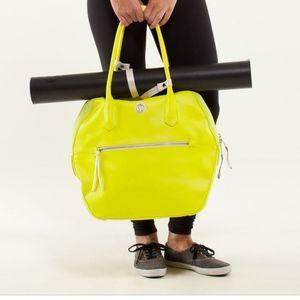 Happy Hatha Bag Neon Yellow